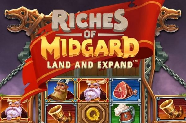 Win Big with NetEnt's Riches of Midgard: Land and Expand