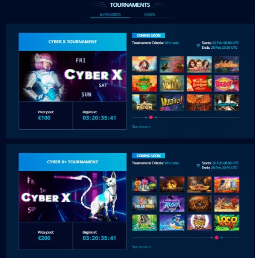 Explore the Tournaments and Earn More