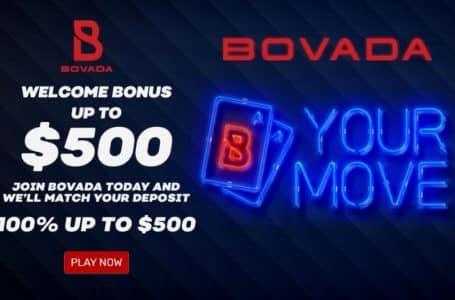 Bovada Poker Offering New Players 100 Percent Deposit Bonus